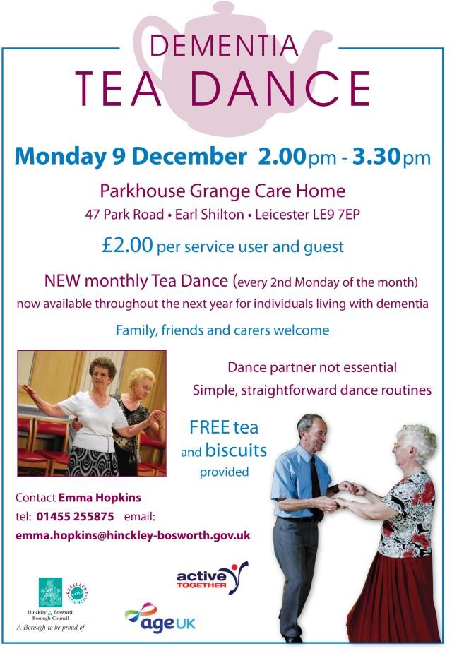 Dementia Tea Dance